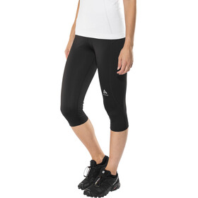 Odlo Sliq 3/4 Leggings Dames, black